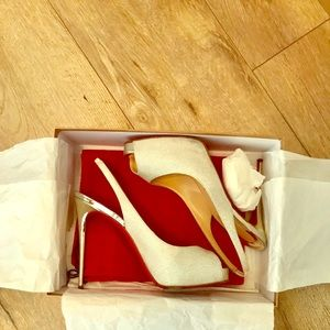 Louboutin Heels, red bottoms